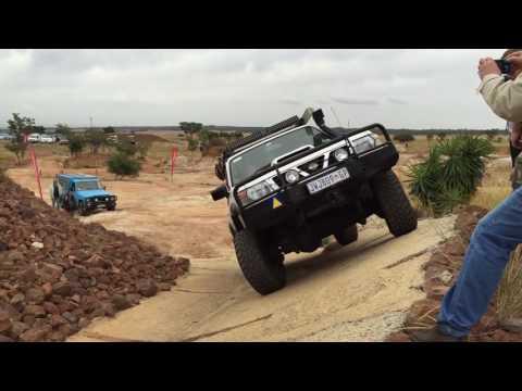 SANDWANI 4X4 - Nissan Patrol day (Concrete Course)
