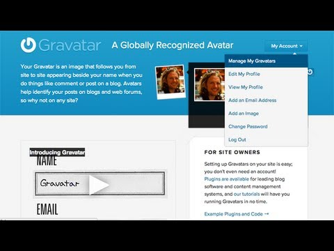 How to create a gravatar image for your business