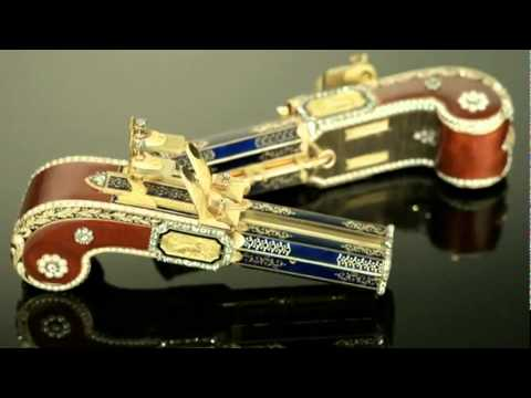 Singing Pistol's - Very cool must see for antique lovers