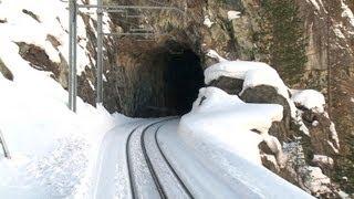 Zermatt to Gornergrat Railway - Driver's View Part 1 thumbnail