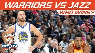 Who Wins Golden State Warriors vs Utah Jazz? | Hoops N Brews