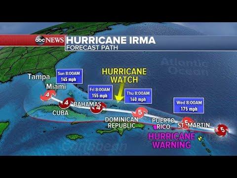 Resultado de imagem para CNN Furacão Irma por dentro