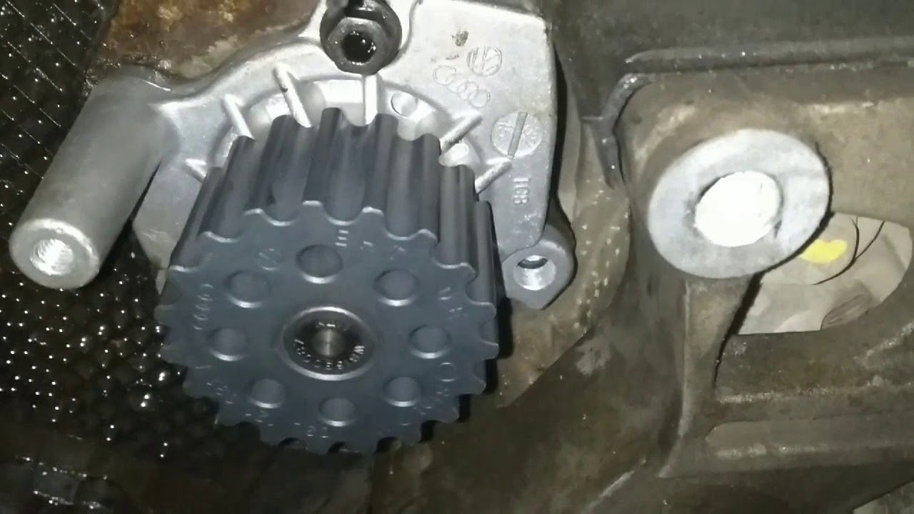 volkswagen polo timing belt & water pump replacement