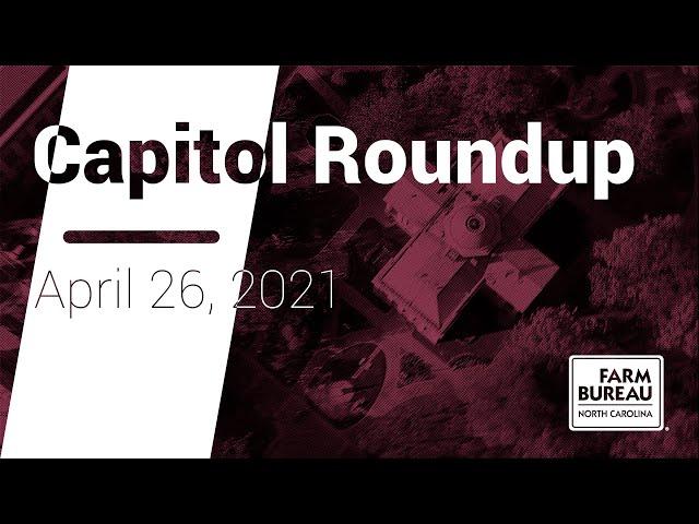 Capitol Roundup (April 26, 2021)