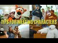 Tips for Meeting Disney Characters