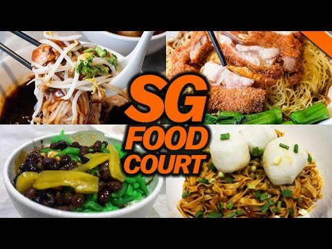 SINGAPORE FOOD COURT CRAWL w/ RICHIE LE - Fung Bros Food