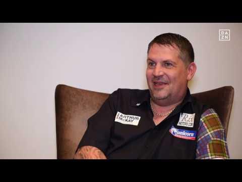 Interview mit Gary Anderson vor der PDC Dart WM 2018