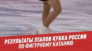 Результаты этапов Кубка России по фигурному катанию Мастера спорта