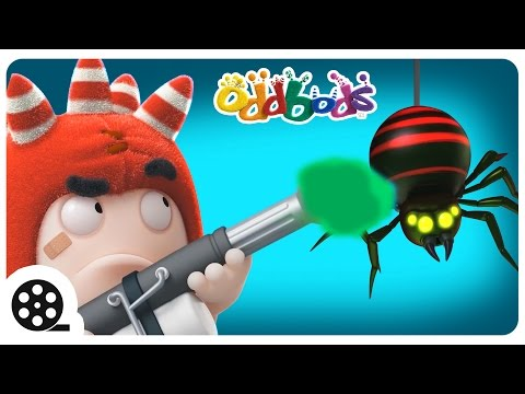Thumbnail: Oddbods | Insect Invasion | Funny Cartoons For Children