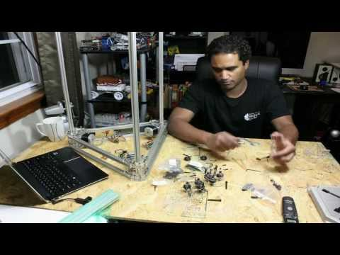 This was a kickstarter project funded by blueeaglelabs.com. I decided I would do a time lapse video of the build.