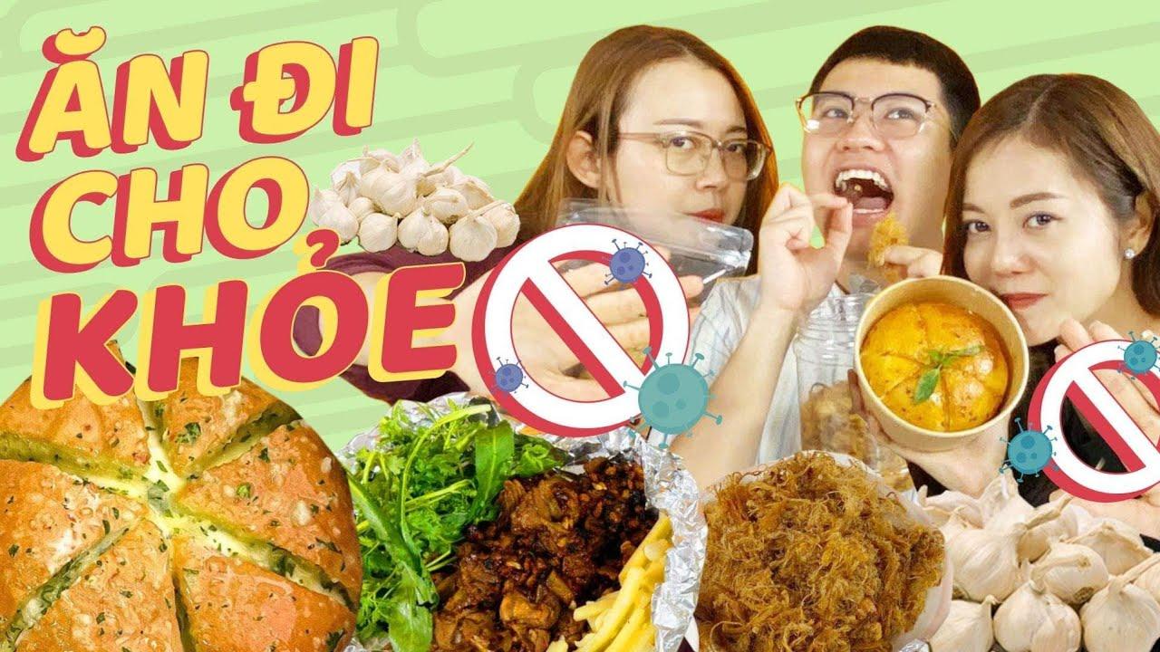 HNAG Ăn vặt từ TỎI – Ăn đi cho khỏe: Bánh mỳ phô mai bơ tỏi HQ, heo, bò cháy tỏi, …