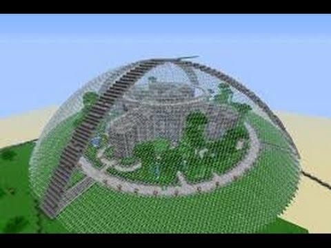 Minecraft схема сферы