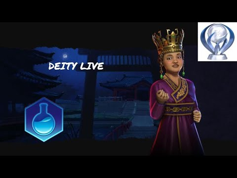Civilization 6 Korea Deity for Platinum Trophy |