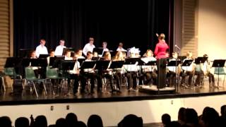 Glacier Middle School Band Concert