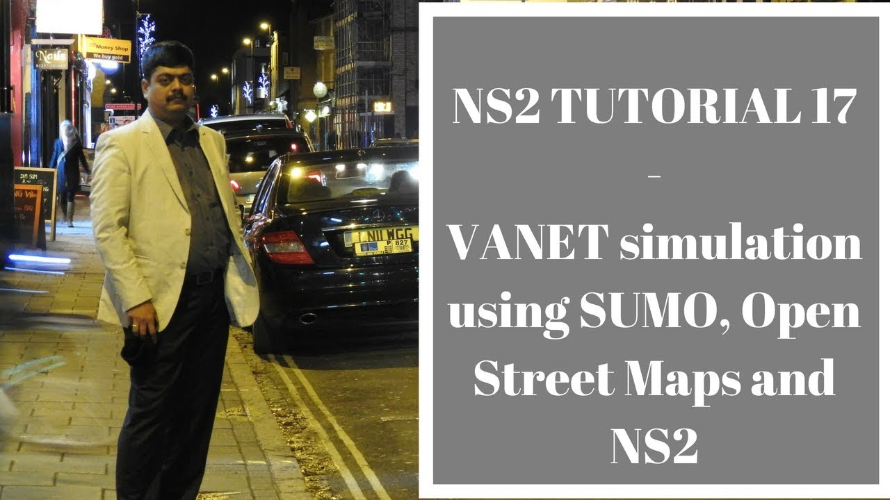 Network Simulators: SUMO, Open Street Maps and NS2 - A Real Traffic
