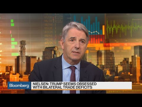 UniCredit's Nielsen Says Trump Seems Obsessed With Bilateral Trade Deficits