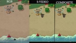 FM Towns 2 - Raiden Densetsu (composite vs s-video vs rgb)