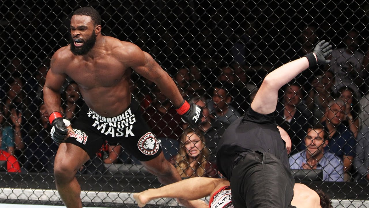 UFC Fight Night Tyron Woodley vs. Gilbert Burns -- Live results ...