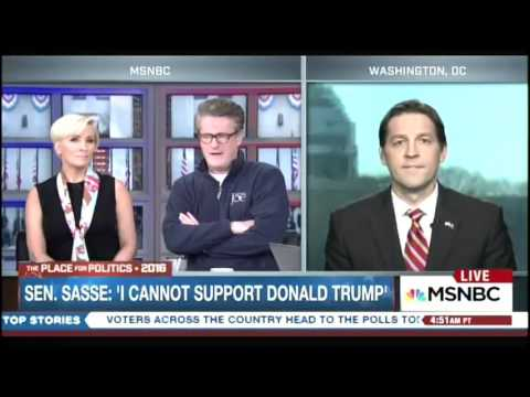 "Scarborough To Sasse: ""You Were Playing Tee-Ball When I Was Fighting..."""