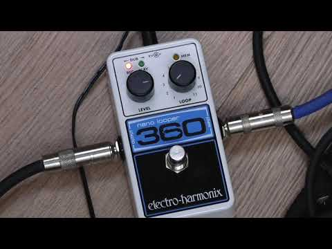 Electroharmonix Nano Looper 360