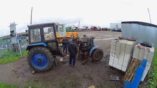 Ремонт трактора МТЗ-82, його розкочування. Изьяли колеса з ЮМЗ-6. (65,66-День 3-Сезону)