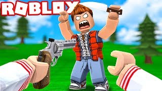 I'M THE BEST SHERIFF IN THE MURDER CHALLENGE AT ROBLOX! (Mystery Murder)