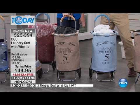HSN | HSN Today: Laundry Room Solutions 03.22.2017 - 07 AM