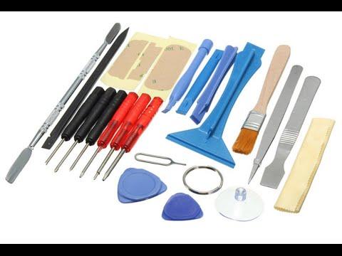 Посылка №16 - Универсальный набор инструментов для ремонта смартфонов с АлиЭкспресс