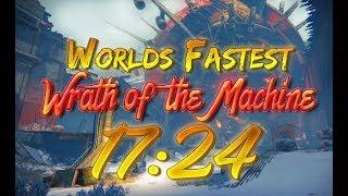 Wrath Of The Machine World Record Speedrun [17:24]