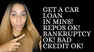 🚘 Get A Car Loan In Minutes! Repos OK! Bankruptcy OK! Bad Credit OK! In 2021