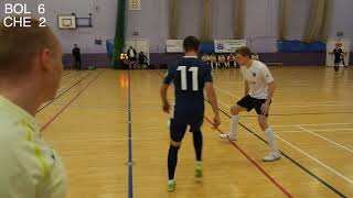Bolton Futsal Club vs Cheshire Futsal Club 14th October 2018 Goals Just Goals