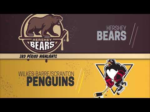 Hershey Bears 3, Wilkes-Barre/Scranton Penguins 2 (October 17, 2018)