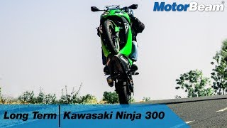 Kawasaki Ninja 300 Long Term Review - Costly But Fun | MotorBeam