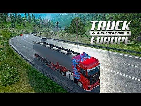 SAIU! Euro Truck Simulator PRO Para Android E IOS (CONFERINDO O JOGO)