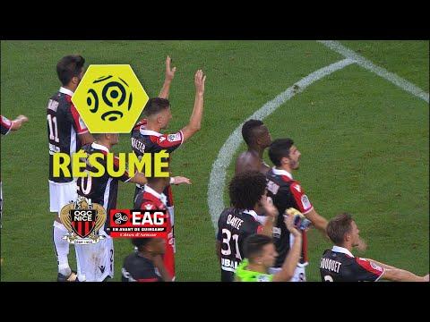 OGC Nice - EA Guingamp (2-0)  - Résumé - (OGCN - EAG) / 2017-18