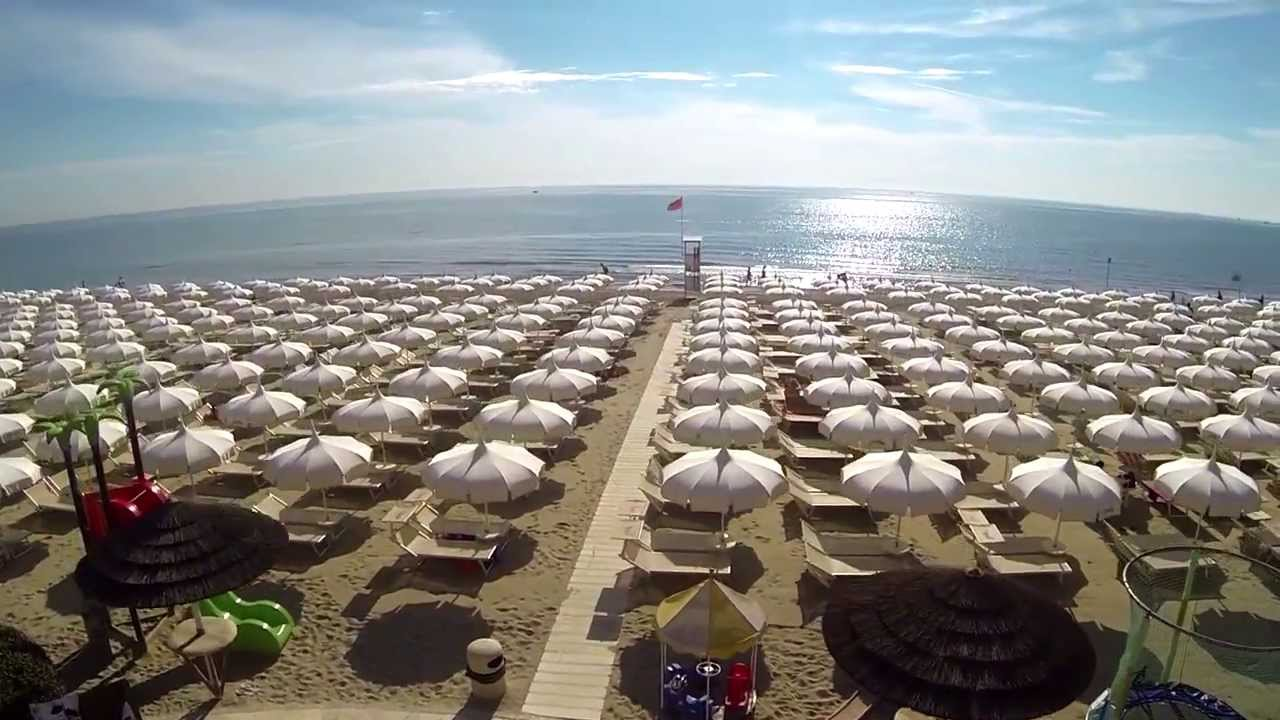 Bagno Holiday Village Milano Marittima Youtube
