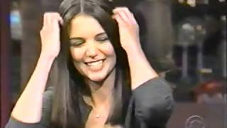 Katie Holmes on Letterman Late Show 9-24-1998