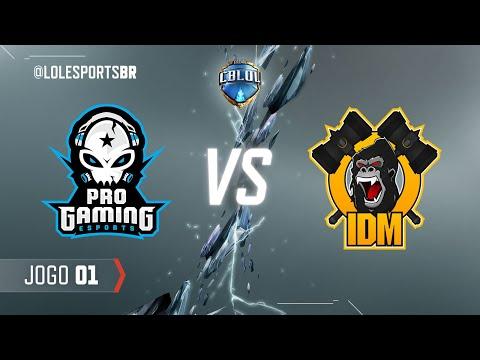 CBLoL 2018: ProGaming x IDM Gaming (Jogo 1)   Fase de Pontos - 2ª Etapa