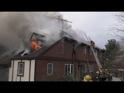 2nd Alarm House Fire in Lehigh Twp., PA