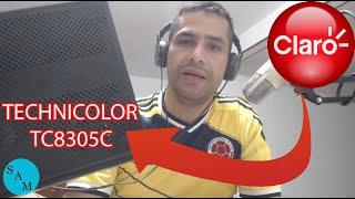 Router de Claro Technicolor TC8305C - Cómo Configurarlo