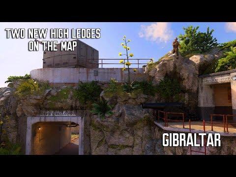 2 New High Ledges on The Map Gibraltar