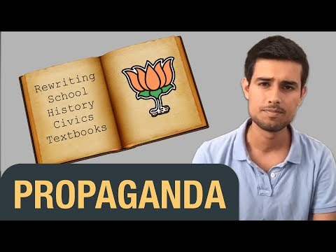 Propaganda in School Textbooks & Bollywood films   Dhruv Rathee Facebook Live