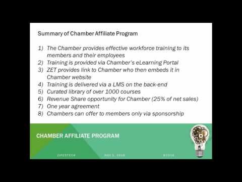 ZET Creating Your Chamber University