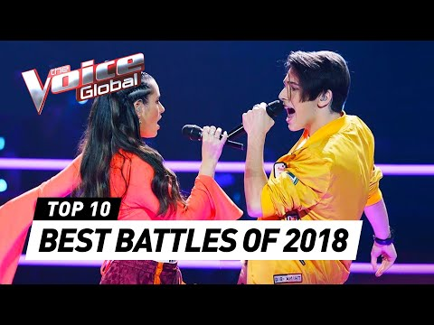 BEST BATTLES in The Voice around the world [2018]