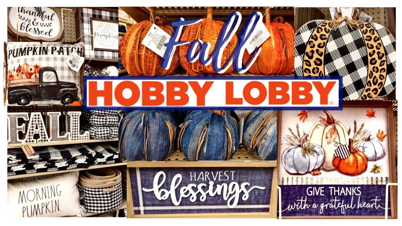 NEW HOBBY LOBBY FALL DECOR 20