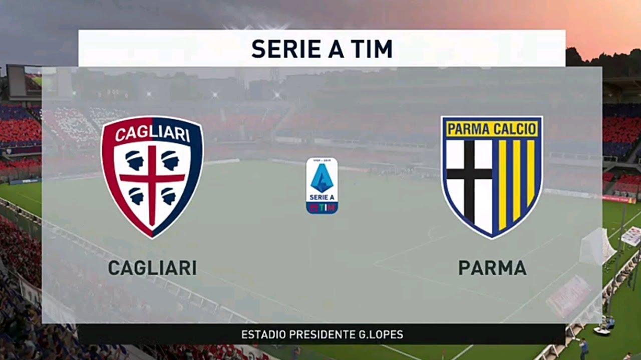 Cagliari Vs Parma Serie A 01 02 2020 Fifa 20 Youtube