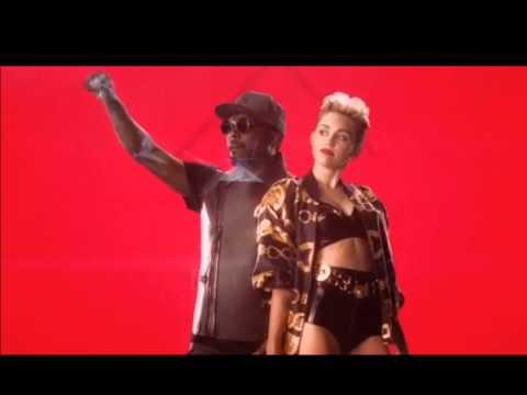 will.i.am ft. Miley Cyrus - Feelin' Myself (Lyrics)