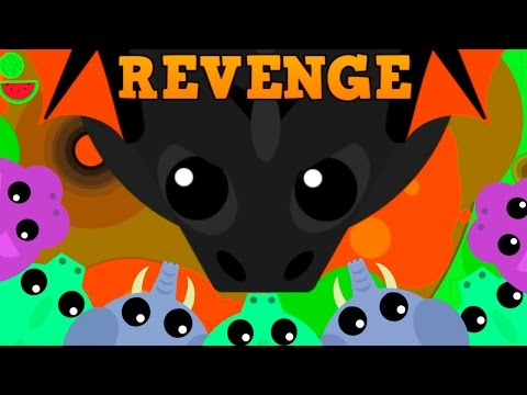 MOPE.IO BLACK DRAGON REVENGE!!  Mope.io Funny Moments Karma Compilation