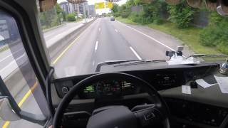 Volvo FH16 750 Driving Wheat Grain in Oslo City,  July 10 - 2017