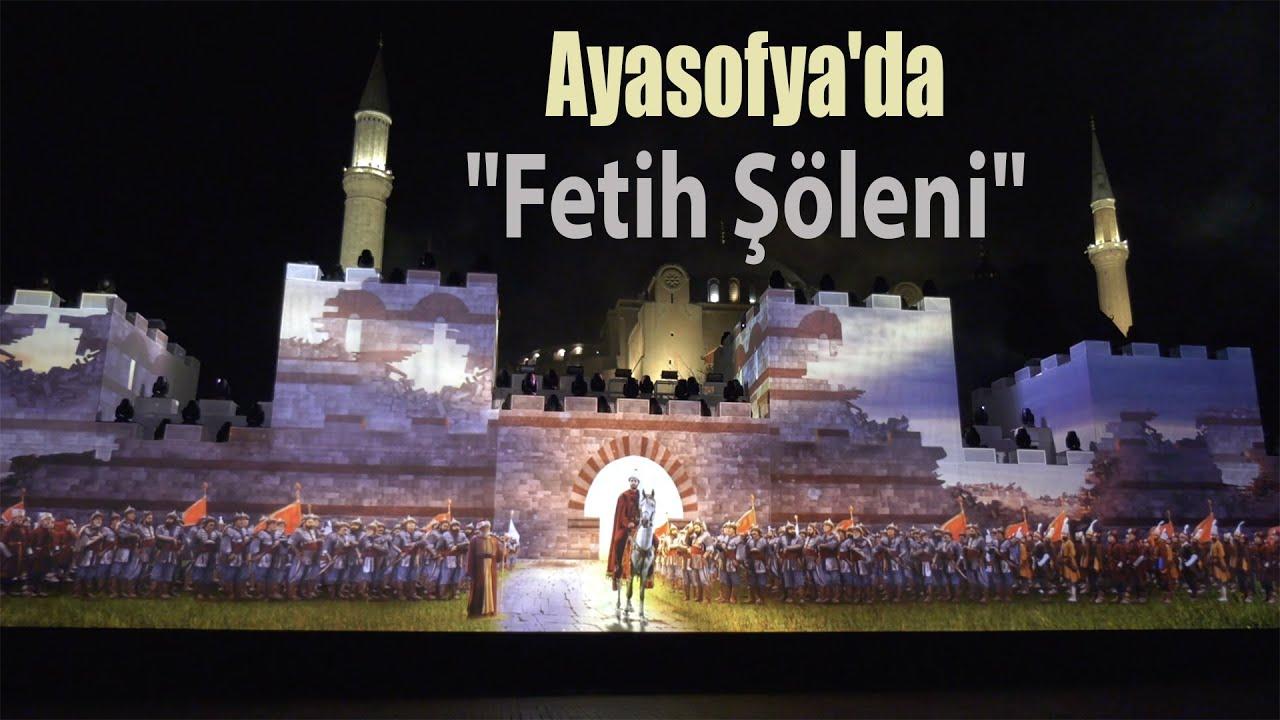 İstanbul'un Fethinin 567'nci Yıl Dönümünde Ayasofya'da